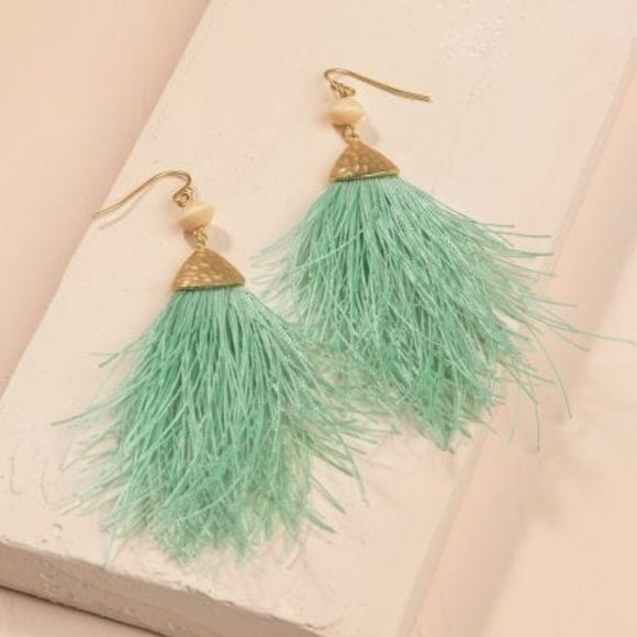 Spartina 449 Jewelry - NWT - Spartina 449 - MARIANA FRINGE EARRINGS